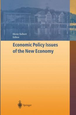 Economic Policy Issues of the New Economy