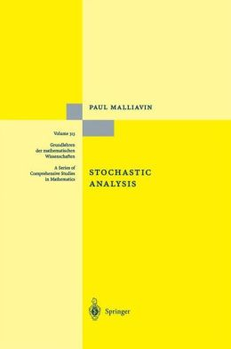 Stochastic Analysis
