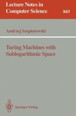 Turing Machines with Sublogarithmic Space