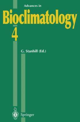 Advances in Bioclimatology