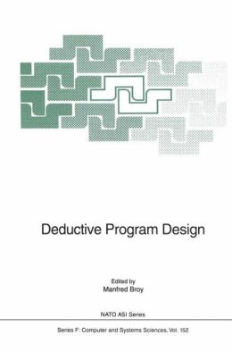 Deductive Program Design
