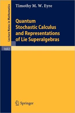 Quantum Stochastic Calculus and Representations of Lie Superalgebras
