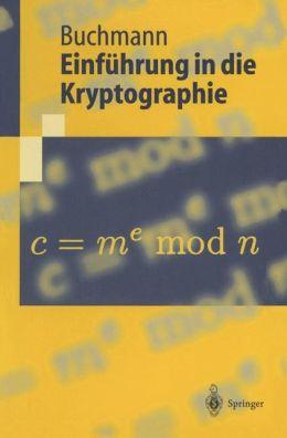Einfuhrung in die Kryptographie