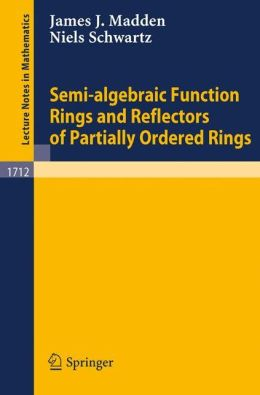 Semi-algebraic Function Rings and Reflectors of Partially Ordered Rings