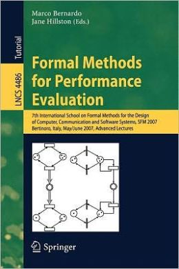 Formal Methods for Performance Evaluation
