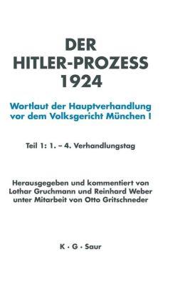 Hitler-prozeß 1924 Tl. 1