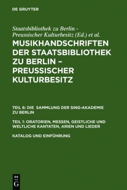 Katalog und Einführung / Catalogue and Introduction