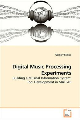 Digital Music Processing Experiments