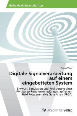 Digitale Signalverarbeitung Auf Einem Eingebetteten System