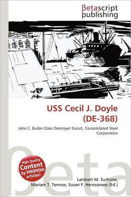 Uss Cecil J. Doyle (De-368)