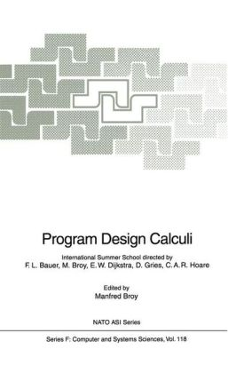 Program Design Calculi