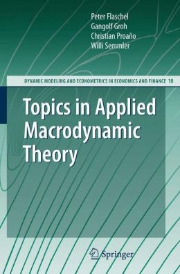 Topics in Applied Macrodynamic Theory