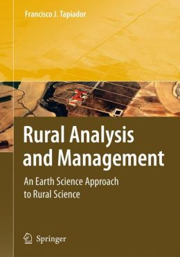 Rural Analysis and Management: An Earth Science Approach to Rural Science