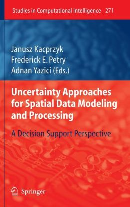 Uncertainty Approaches for Spatial Data Modeling and Processing: A decision support perspective