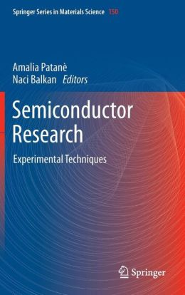 Semiconductor Research: Experimental Techniques