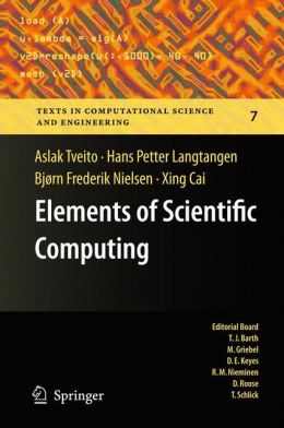 Elements of Scientific Computing