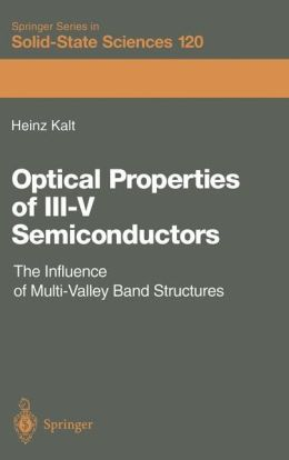 Optical Properties of III-V Semiconductors: The Influence of Multi-Valley Band Structures