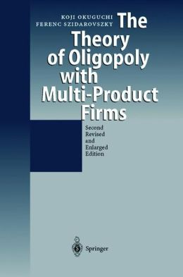 The Theory of Oligopoly with Multi-Product Firms