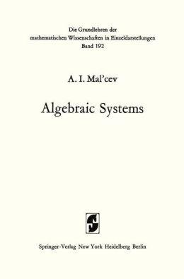 Algebraic Systems
