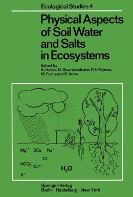 Physical Aspects of Soil Water and Salts in Ecosystems