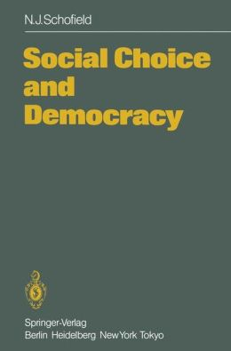 Social Choice and Democracy