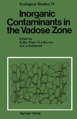 Inorganic Contaminants in the Vadose Zone