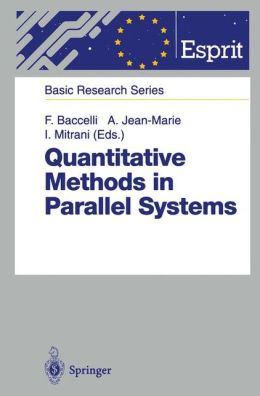 Quantitative Methods in Parallel Systems