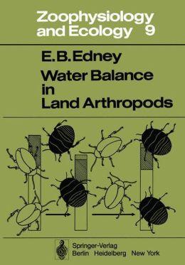 Water Balance in Land Arthropods