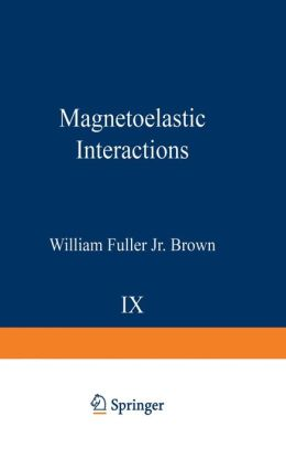 Magnetoelastic Interactions