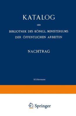Katalog: Nachtrag (1907-13)