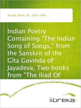 Indian Poetry Containing