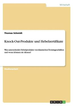 Knock-Out-Produkte Und Hebelzertifikate