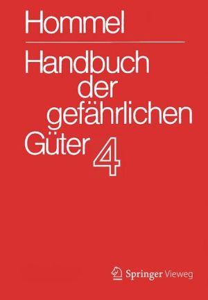 Handbuch der gefährlichen Güter. Band 4: Merkblätter 1206-1612