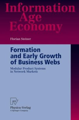 Formation and Early Growth of Business Webs: Modular Product Systems in Network Markets
