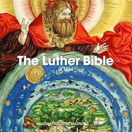 The Luther Bible Wall Calendar
