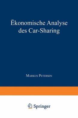 Ökonomische Analyse des Car-Sharing