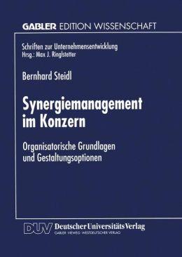 Synergiemanagement im Konzern: Organisatorische Grundlagen und Gestaltungsoptionen