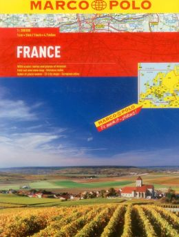 France Marco Polo Atlas
