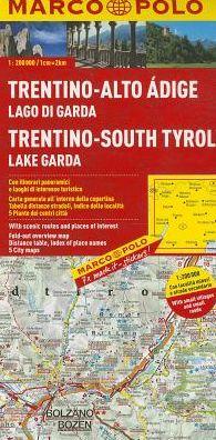 Italy - Trentino - South Tyrol, Lake Garda Marco Polo Map
