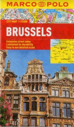 Brussels Marco Polo City Map