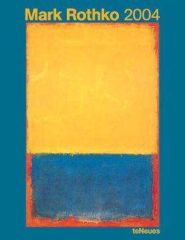 2004 Mark Rothko Poster Calendar