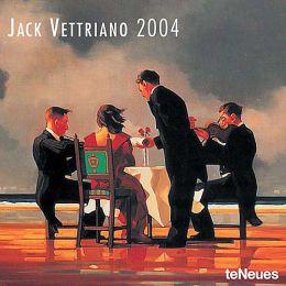 2004 Jack Vettriano Wall Calendar