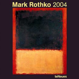 2004 Mark Rothko Wall Calendar