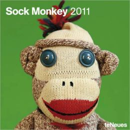 2011 Sock Monkey Wall Calendar