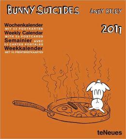 2011 Bunny Suicide Weekly Postcard Calendar
