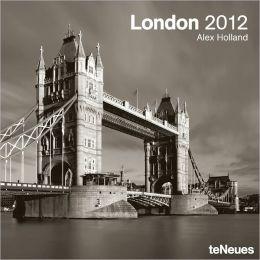 2012 London Wall Calendar