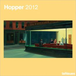 2012 Edward Hopper Wall Calendar
