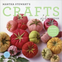 2012 Martha Stewart's Crafts Wall Calendar