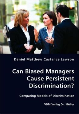 Can Biased Managers Cause Persistent Discrimination?