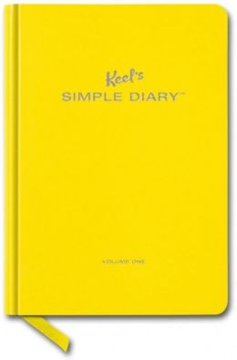 Keel´s Simple Diary I Yellow